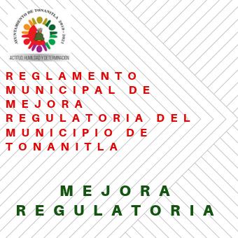 Reglamento Municipal de Mejora Regu