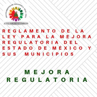 Reglamento de Ley de Mejora Regulat