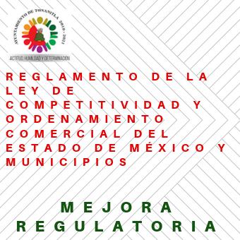 Reglamento de Ley de Competividad