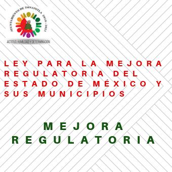 Ley para la Mejora Regulatoria