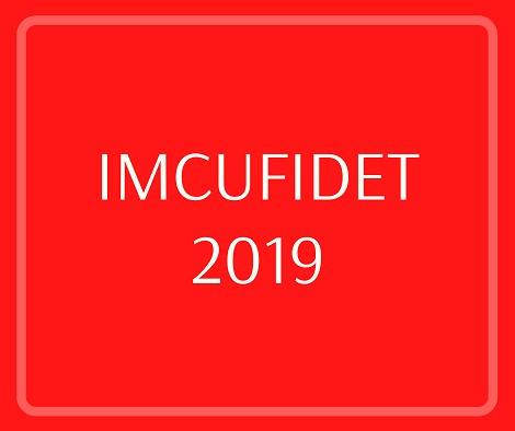 IMCUFIDET 2019